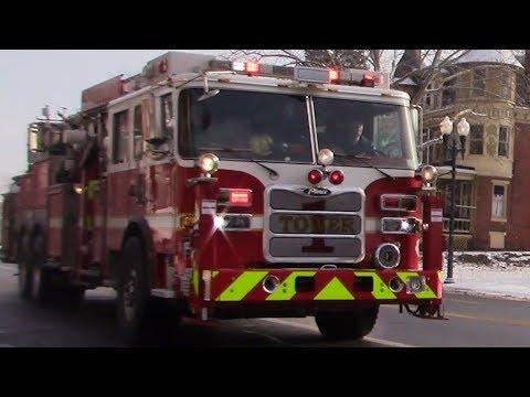 Fire Trucks Responding 2019 Compilation #1