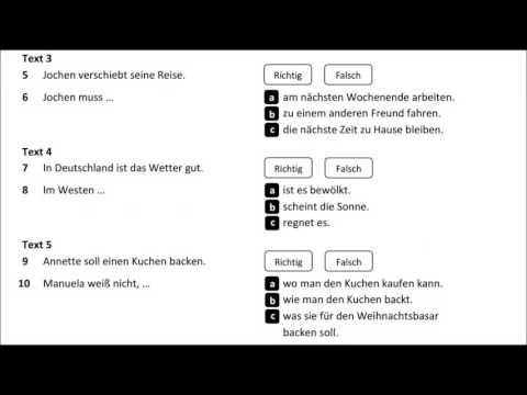 Goethe - Ösd Zertifikat_B1_Modelltest 1_ Hören Teil 1
