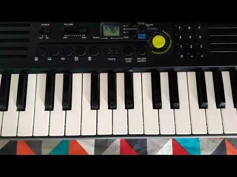 Bharat ane nenu song ||Piano || Notes