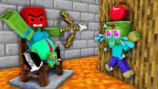 Monster School : Bad Mother Brewing Baby Zombie Life (Bad Family) Poor Herobrine Minecraft Animation