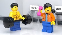 LEGO Gym Fail - Stop Motion (2018)