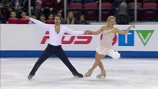 Мэдисон Хаббелл - Захари Донохью. Ритм-танец. Танцы. Skate Canada. Гран-при по фигурному катанию