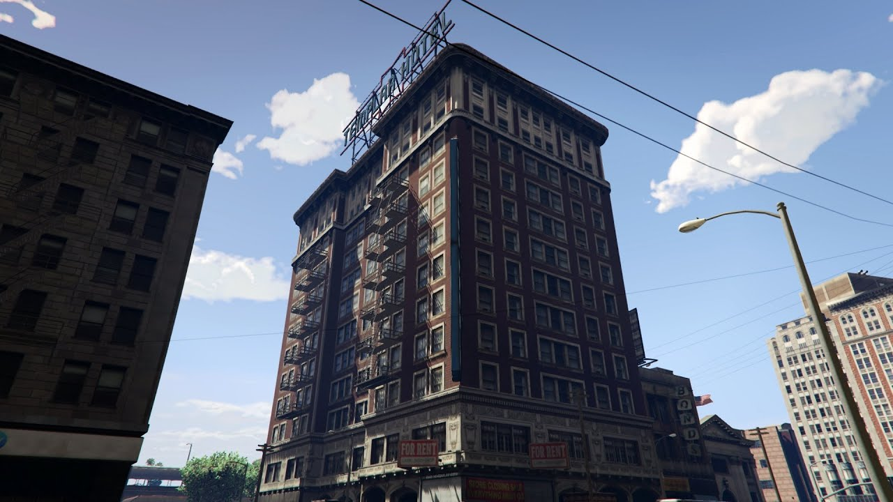 GTA V  The Buildings of Los Santos  The Templar Hotels at Legion