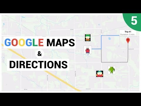 Displaying A Google Map Using A MapView
