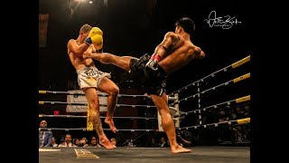 *FULL FIGHT* Lerdsila PhuketTopTeam vs. Alexi Serepisos at #LionFight40 World Lightweight Title //