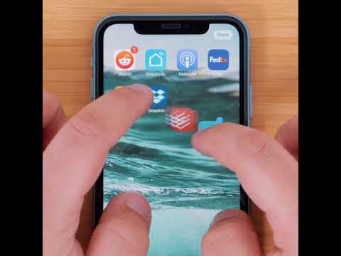 How to Move Multiple Apps on iOS