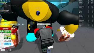 Roblox boxing simulator part 2 THE ELITE TEAM (Pixel Man)