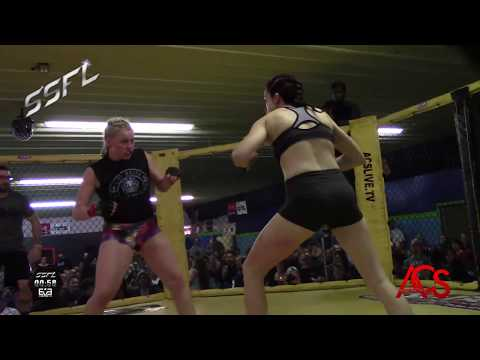 SSFL Spyder Submission Fight League Amanda Labo vs Makenna Brown