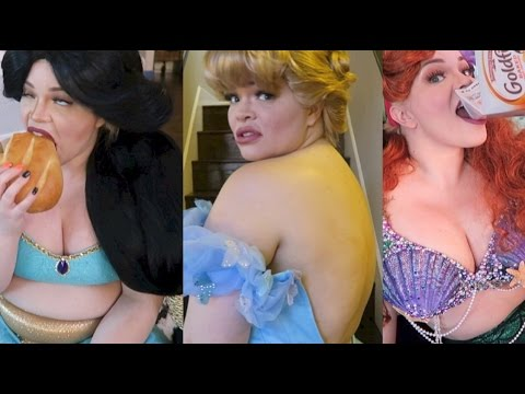 If Disney Princesses Were Fat...