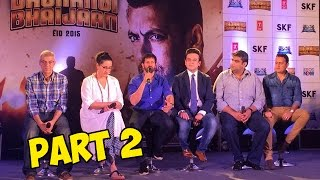 Bhar Do Jholi Meri Song Launch | Adnan Sami, Kabir Khan | Bajrangi Bhaijaan PART - 2