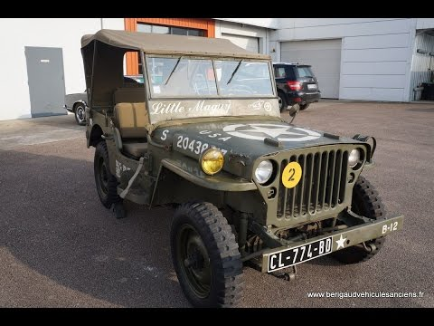 ford jeep willys gpw 1943 vendre youtube. Black Bedroom Furniture Sets. Home Design Ideas
