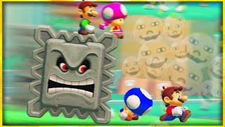 Mario Maker 2 but my friends hurt me online
