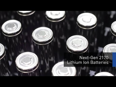 Next-Gen 2170 Lithium Ion Batteries