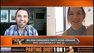 Melissa Karagianis talks KOTC title defense Nov. 10 & potentially fighting for RIZIN