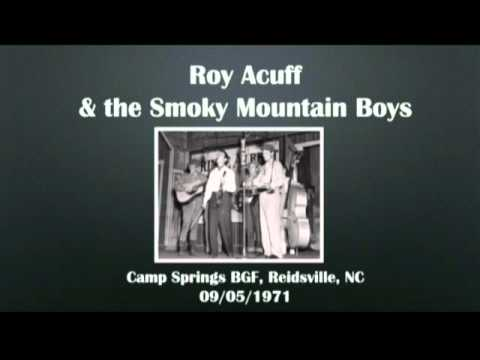 【CGUBA107】Roy Acuff & the Smoky Mountain Boys  09/05/1971