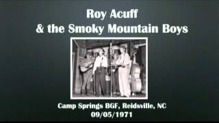 【CGUBA107】Roy Acuff & the Smoky Mountain Boys  09/05/1971