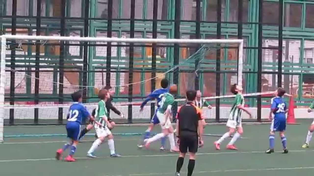 九龍木球會vs南華(2015.2.15.青少年足球U13甲組聯賽)精華 - YouTube