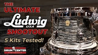 The Ultimate Ludwig USA Drum Set Shootout!