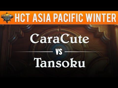 CaraCute vs Tansoku - Hearthstone Championship Tour Asia Pacific 2017:  Swiss Round 7
