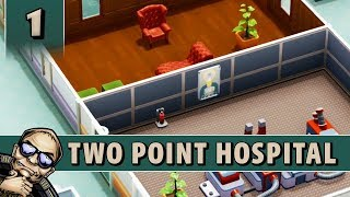 Two Point Hospital - Release Gameplay! - Part 1