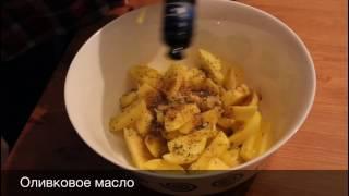 Правильное питание: запеченый картофель с прованскими травами и белый соус