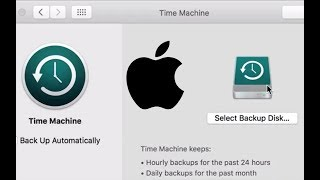 How to Set Up Time Machine Automatic Mac Backups in macOS Sierra