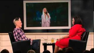 P!nk on Oprah After the Show 2510