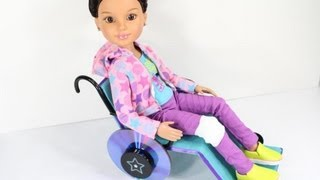 How To Make A Doll Wheelchair