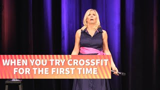 Trying Crossfit for the First Time | Leanne Morgan