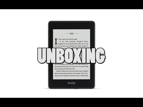 Amazon Kindle Paperwhite 4 Unboxing