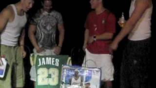 The ULTIMATE LeBron James DISS!!!! BURN JERSEY BY CLE FANS