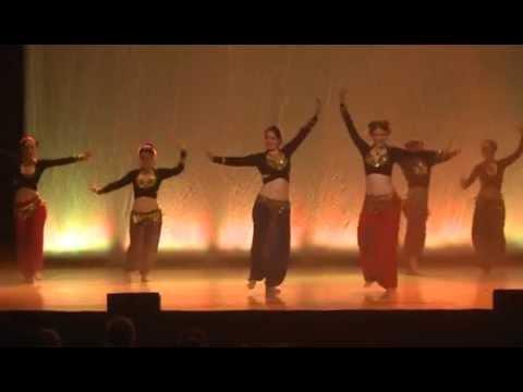 Ida Mahin & Ereshkigal - Indian HipHop Fusion - Orient-LE Tanzzauber 2014