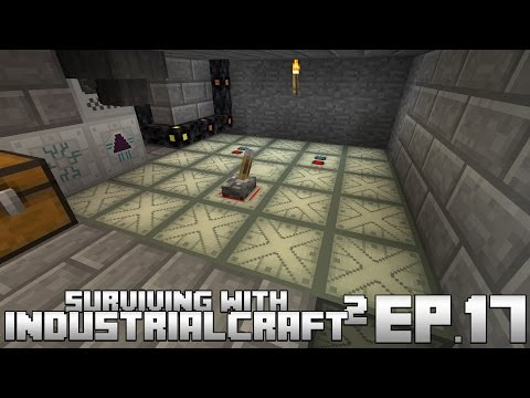 Surviving With IndustrialCraft 2 :: Ep.17 - Liquid Cooled Nuclear Reactor