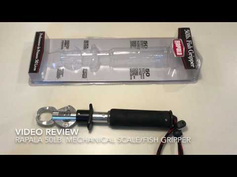 Review - Rapala 50lb. Mechanical Scale/Fish Gripper For Fishing