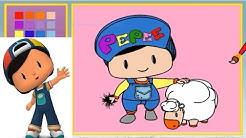 En Güzel Pepee Boyama Sayfaları Renkleri öğreniyorum Pepee çizgi