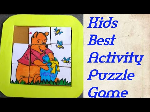 Kids quarantine indoor games||best brain activity||puzzle game