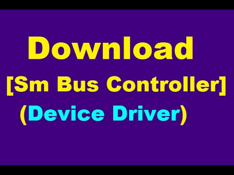 controleur de bus sm windows 8.1