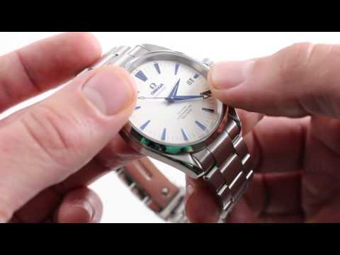 Omega Seamaster Aqua Terra 150M Chronometer Luxury Watch Review