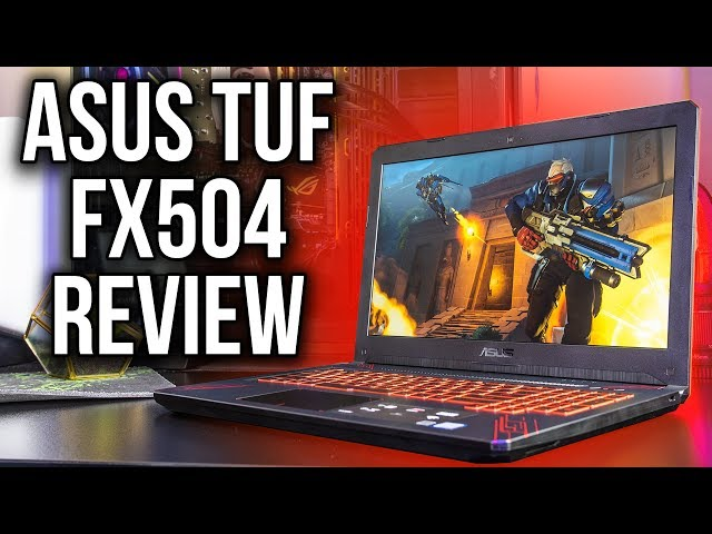 ASUS TUF FX504 Gaming Laptop Review and Benchmarks Обзор