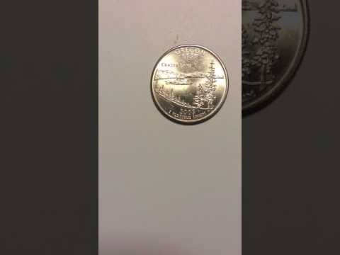 Oregon  state quarters 2005 another beautiful rare coin pockets change I find in Canada worth $$$$
