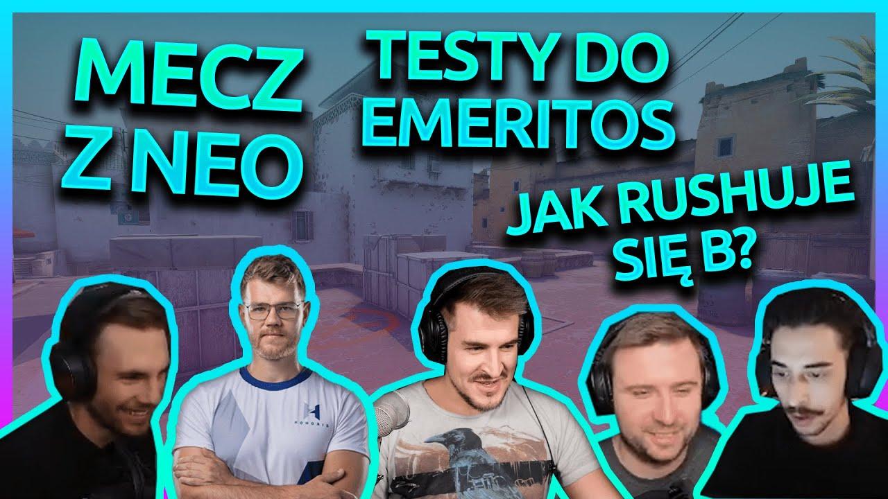 """MECZ Z NEO! """"TESTY DO EMERITOS""""! JAK RUSHUJE SIĘ B?"""