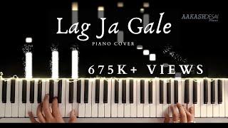 Lag Ja Gale   Piano Cover   Lata Mangeshkar   Aakash Desai