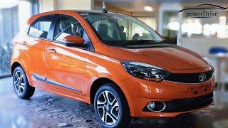 2019 Tata Tiago XZ+ (XZ Plus) : Price : Mileage : Specs : Features : Walkaround : PowerDrive