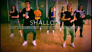 Shallow - Lady Gaga & Bradley Cooper (dj Tronky Bachata Remix) | Zumba choreo