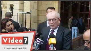 بالفيديو.. زعيم الأغلبية  بالبرلمان الألمانى: سأدعو لتنشيط السياحة فى مصر