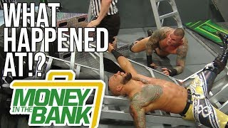 WHAT HAPPENED AT: WWE Money In The Bank 2019