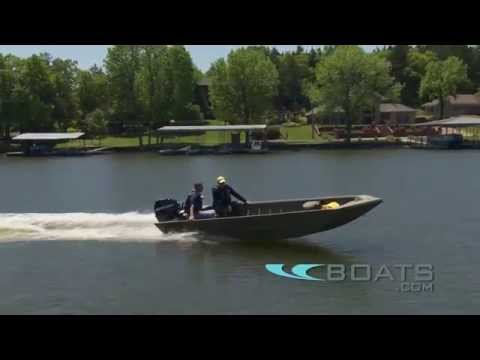 Lowe Frontier Series Aluminum Fishing Boat Review / Performance Test