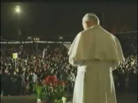 The Great Pop John Paul II visit in Albania -part 5