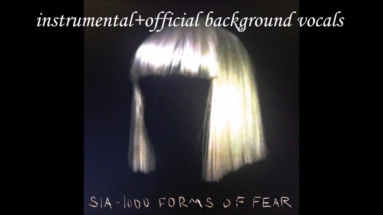 Sia Chandelier Official Instrumental Background Vocals