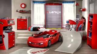Race car bedroom decorating ideas